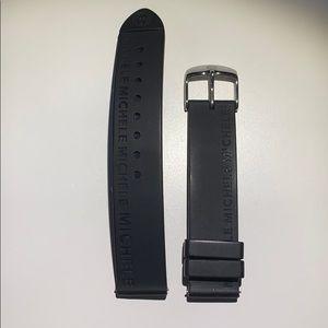 Michele rubber watch band